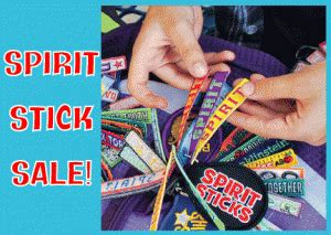 spirit sticks for sell at the fall festival! — china