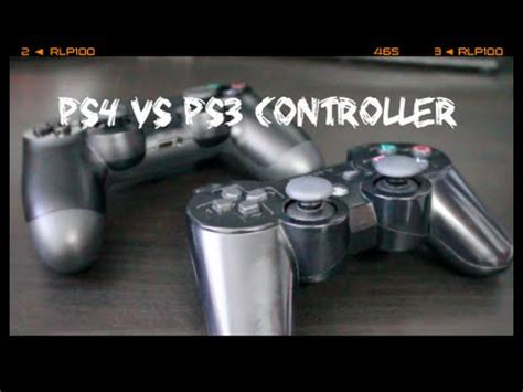 ps4 controller vs ps3 controller review 2016 comparison