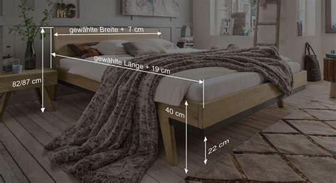 längere ausdauer im bett luxusbett aus biologisch ge 246 lter wildeiche im retrostil