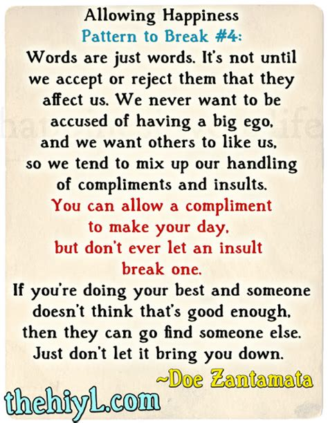 How To Compliment Or Insult A by Allowing Happiness 4 Accepting Compliments And