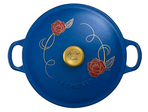 disney le creuset beauty and the beast le creuset