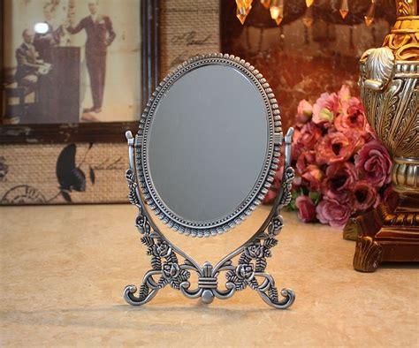 Desktop Vanity Mirror by Fashion Copper Alloy Vintage Vanity Mirror Adjustable