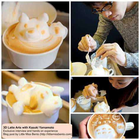 Move Latt Artists The Amazing Latt Printer Has Arrived by 3d Latte With Kazuki Yamamoto Miss Bento