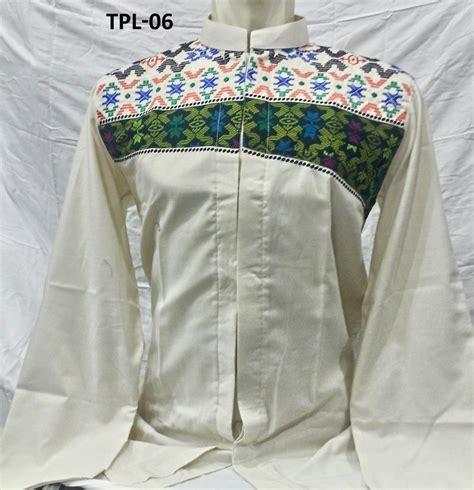 Baju Koko Lengan Panjang Daf3pj 5 baju koko tasmatas lengan panjang model 2017