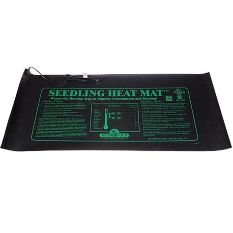 jump start mt10009 48x20 75 inch seedling heat mat plant