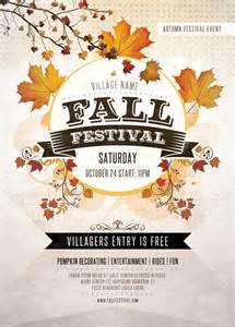 Fall Festival Flyer Templates Free by 21 Festival Flyer Templates Psd Vector Eps Jpg
