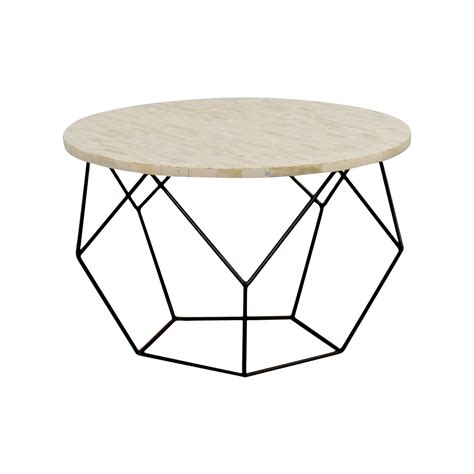 42 Off West Elm West Elm Origami Bone Coffee Table Tables West Elm Origami Coffee Table