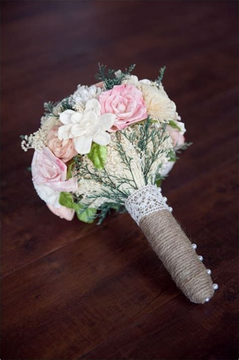 Handmade Bouquet - vintage bookworm wedding bouquets to tell and wedding