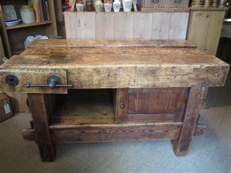 antique kitchen bench kitchen centre island old work bench antiques atlas