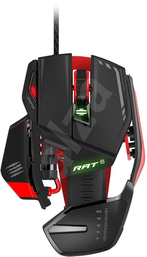 Madcatz R A T 5 Putih Gaming Mouse mad catz r a t 6 gaming mouse alzashop