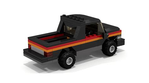 Tutorial Lego Truck | moc lego 1980s style pickup truck tutorial youtube