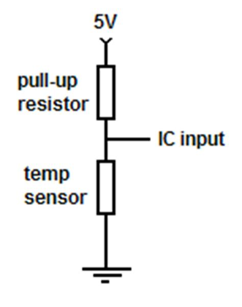 pull up resistor español converting bmw temperature sensor resistance to degrees celsius with an ic jaroslavklima