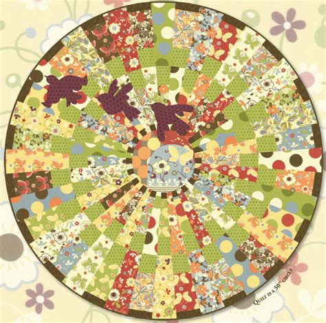 Circular Quilt Patterns by Free Pattern Freebird Circle Quilt By Momo