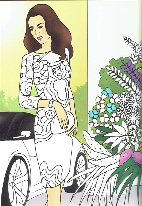 princess kate coloring pages wwkd kate middleton duchess of cambridge colouring pages 3