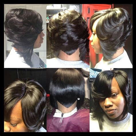 27 layer short black hairstyles short 27 piece quick weave natural looking google search
