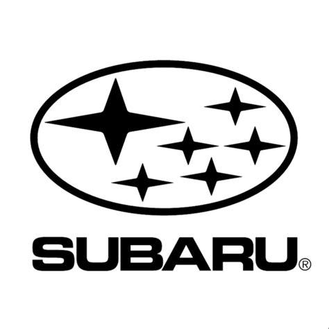 subaru logo subaru stars stacked vinyl sticker sykvinyls com