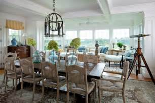 Beachy Dining Room Tables beach style dining room
