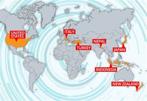 earthquake risk map earthquake risk mapped for holiday destinations in 2017