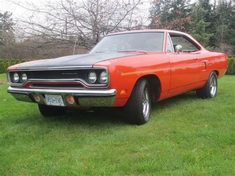 find used plymouth roadrunner 440 6 pack 4 speed