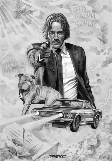 john wick tattoo design 5 exles of awesome poster design from john wick