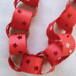 xmas decorations to make at home decorative paperchains how to make christmas decorations