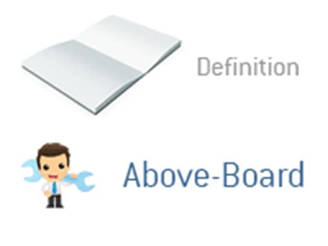 above board what does it
