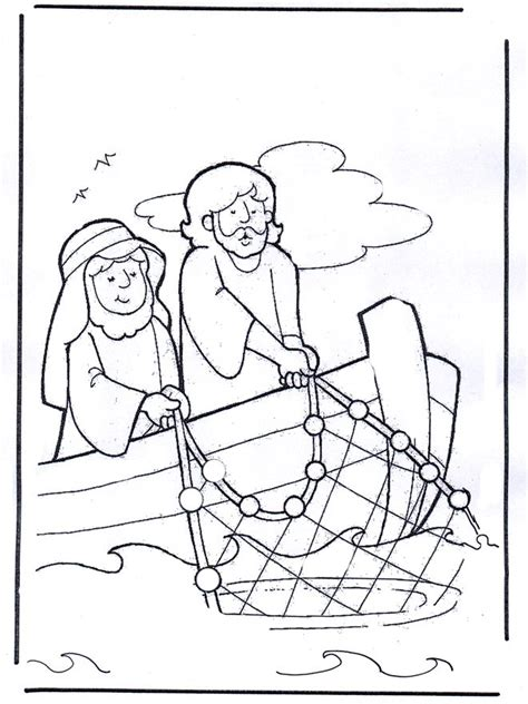 coloring page for jesus cooks breakfast 17 best images about jesus casting nets after easter on