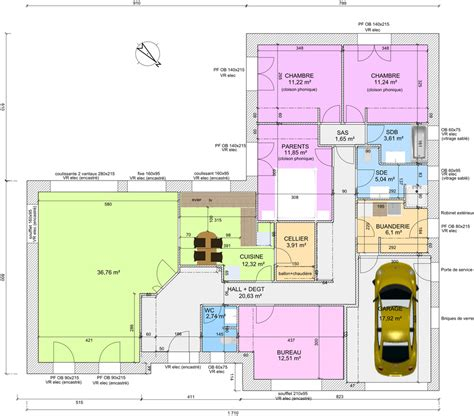 Plan De Maison Plain Pied 4 Chambres 3547 by Avis Sur Plan De Plain Pied 4 Chambres De 145m 178 18 Messages