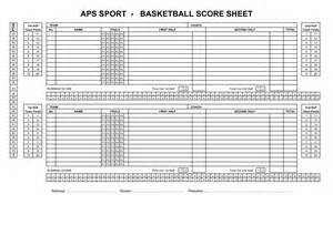 Basketball Score Sheet Excel Template by Best Photos Of Blank Basketball Score Sheet Printable