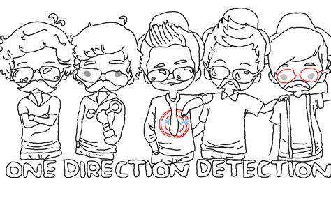 imagenes de minions de one direction para colorear one direction dibujos para colorear caricatura imagui