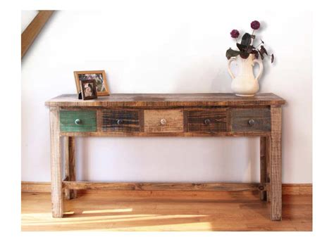 multi colored console table antique painted console or sofa table painted sofa table