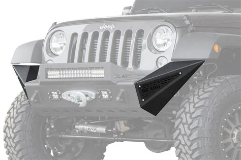 custom jeep bumper jeep jk stealth fighter pods add offroad