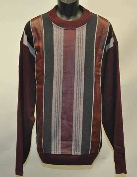 Sweater Leather Patch Maroon Plaid sku sm2738 s 2 faux leather patch fashion pull