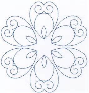 Quilt Stencil Designs by Free Continuous Machine Quilting Designs Images