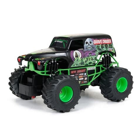 grave digger truck toys for bright jam grave digger radio controlled