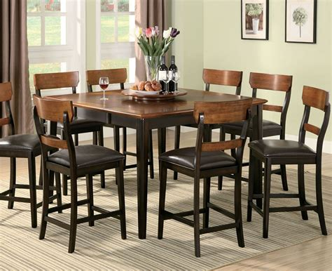 collection in tall dining table set with room best regarding stylish dining room tables counter height marceladick com