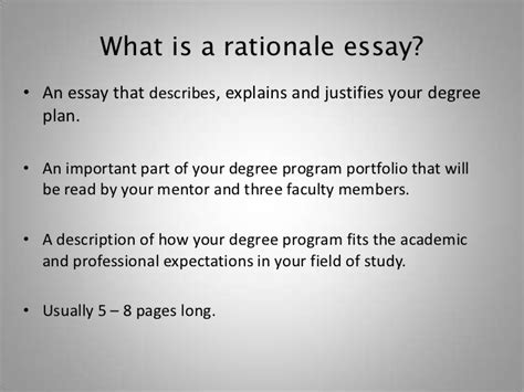 writing a rationale for a dissertation how to write the rationale essay