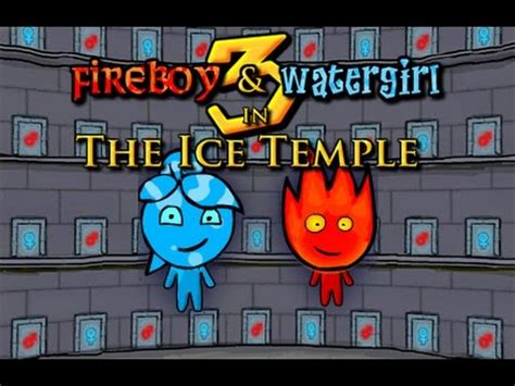 fireboy and watergirl 3: the ice temple full gameplay