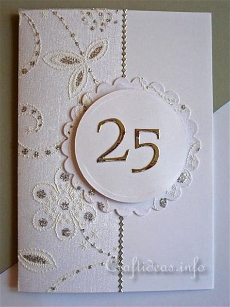 silver wedding anniversary card images greeting card to craft silver wedding anniversary card