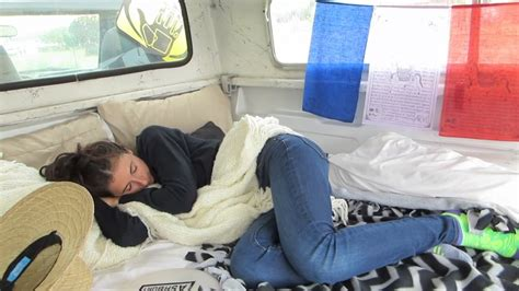 How To A In Bed by Sleep In Your Truck