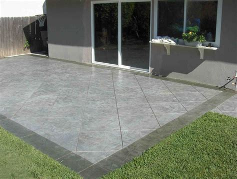 Concrete Patio Company Patios Amp Walkways Arlington Fence And Deck Company