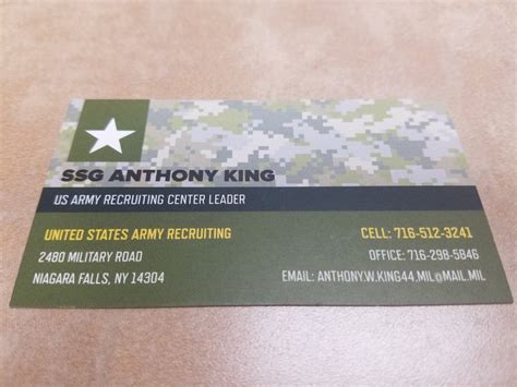 Free Us Army Business Card Templates army business card template best business cards