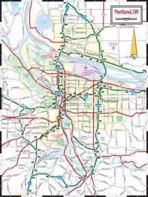 road maps of portland oregon