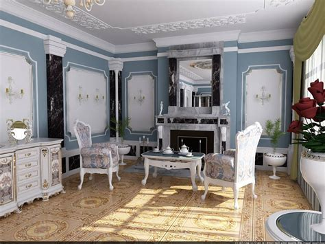 Style Interior Design by Rococo Style Interior Design Ideas
