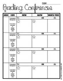 writing conference template individual reading and writing conference forms a tool