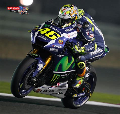 and rossi lorenzo tops qatar motogp test day one mcnews com au