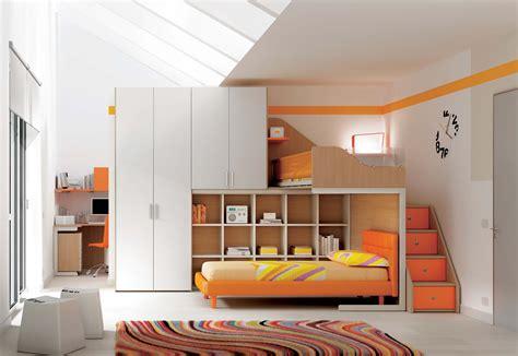 chambre enfant m chambre enfant lits superpos 233 s en mezzanine