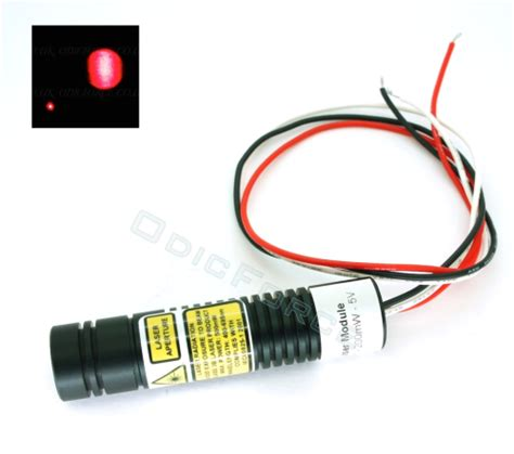laser diode and modulation 200mw 650nm laser diode module with adjustable locking focus ttl modulation 16mm odicforce