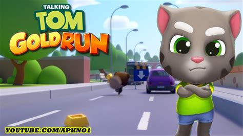 talking android talking tom gold run android gameplay talking tom ep 27