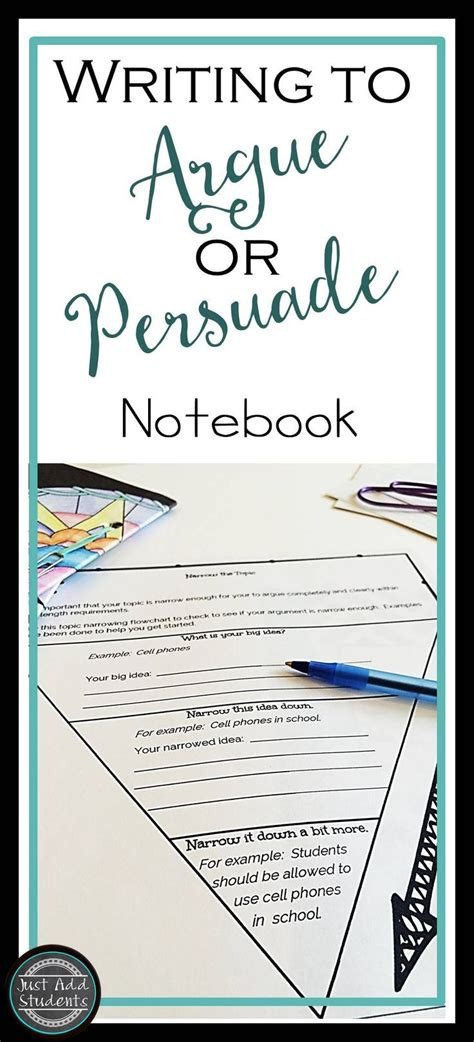 Teaching Essay Writing To Middle School Students by 17 Best Images About Journaling For Middle School On Writers Notebook Student